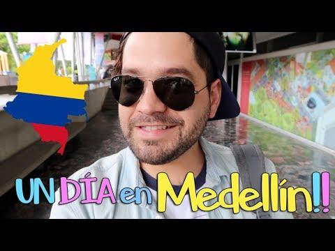 UN DÍA en Medellín!! AMO COLOMBIA!! // gwabir