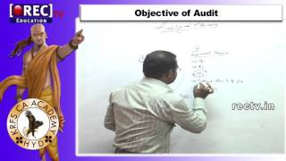 CA-BASICS OF AUDTING PART 1  - KRFS CA ACADEMY CHARTERED ACCOUNTENT COURSE MATERIAL