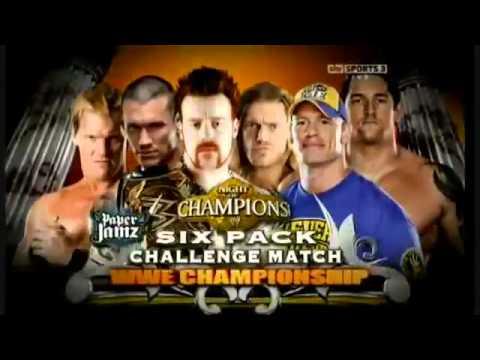 WWE Night Of Champions 2010 Highlights [HD].