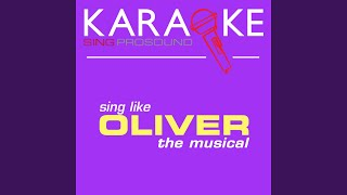 I Shall Scream (In the Style of Oliver) (Karaoke Instrumental Version)