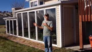 Design An Attached Winter Greenhouse / Solar Thermal Mass Heat Room