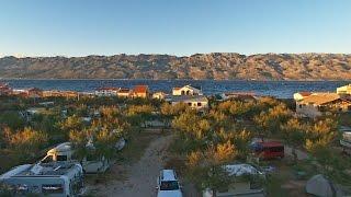 Razanac & Camping Puntica Drone Video, Zadar, Croatia [4K]