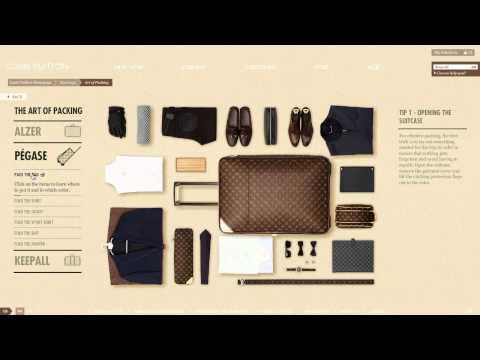เคล็ดลับการ Pack กระเป๋าเดินทางจาก Louis Vuitton