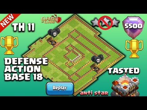 TH 11 NEW BEST DEFENSE ACTION BASE 2018...