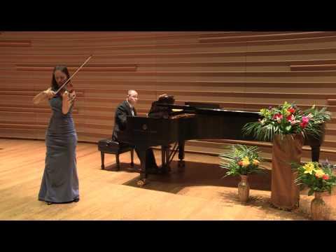 "Kinga Augustyn plays Sarasate Zigeunerweisen (""Gypsy airs"")- LIVE concert"