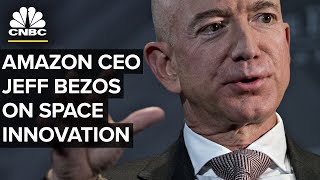 LIVE: Jeff Bezos Speaks on Innovation in the Space Industry and Blue Origin - Sept. 19, 2018