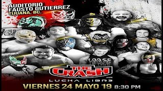 | #TheCrashLuchaLibre | Star Boy, Zarco & Viento vs Animal, Demencia & SIlver Star |