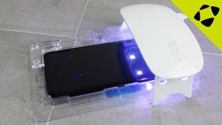 WhiteStone Dome Glass Galaxy S8 / S8 Plus Full Cover Screen Protector Installation Guide