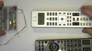 Қашықтан басқару функциясы оқыту басқа пульттер Remote Control