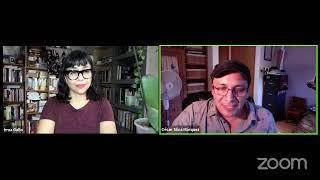 """Sombras nada más"" entrevista con César Silva Márquez por Irma Gallo"
