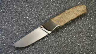 """Авторский нож: """"Мне подарили"""" Сержант, M390."""