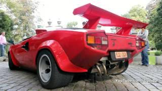 Lamborghini Countach 5000 QV w/ Kreissieg exhaust !!