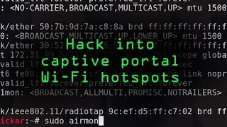 Hack Hotel, Airplane & Coffee Shop Hotspots for Free Wi-Fi with MAC Spoofing