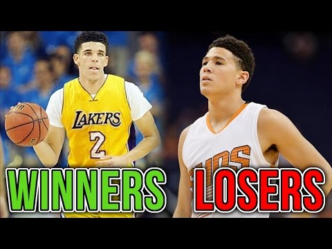 The WINNERS and LOSERS of the NBA Lottery
