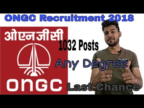 ONGC Recruitment 2018 | govt job openings | oil and natural gas corporation jobs 2018 | apply online