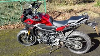 2015 yamaha mt 09 tracer 850cc fj 09 test ride review