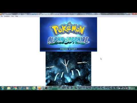 Kiểm tra Citra Emulator Pokemon Alpha Sapphire