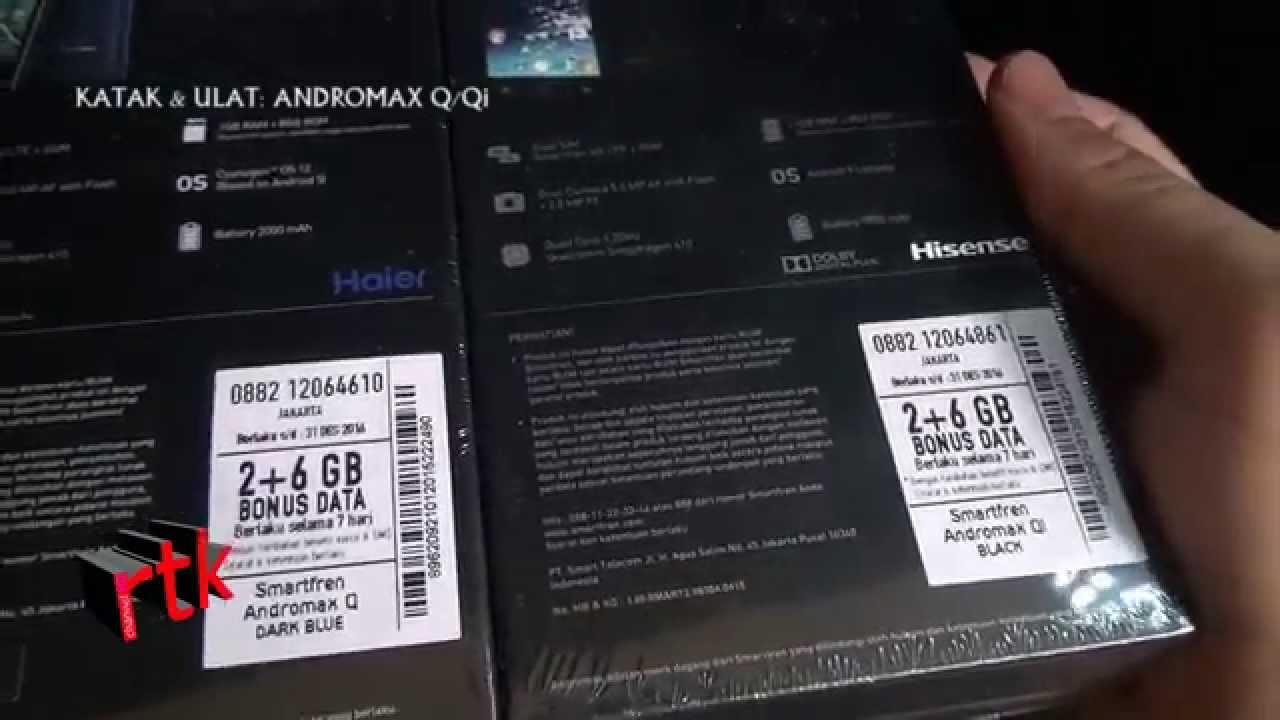 katak & ulat: Andromax Q & Qi 4G LTE - YouTube