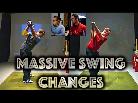 Massive Swing Changes - Second Lesson With Dan Whittaker
