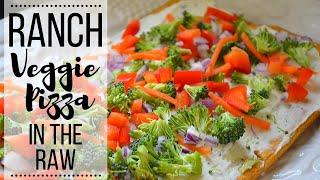 Ranch Veggie Pizza I How to make Veggie Pizza I Ranch Pizza with Fresh Veggies I Appetizer