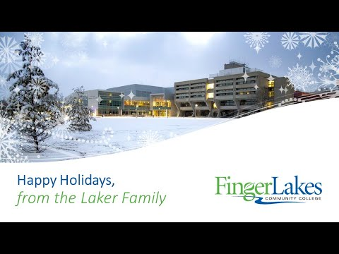 Season's Greetings from Finger Lakes Community College 2020