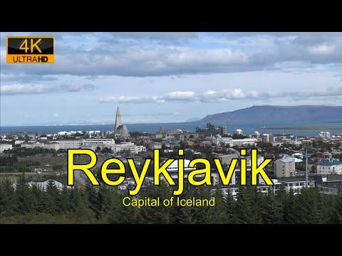 Reykjavik, Capital of Iceland, 4K