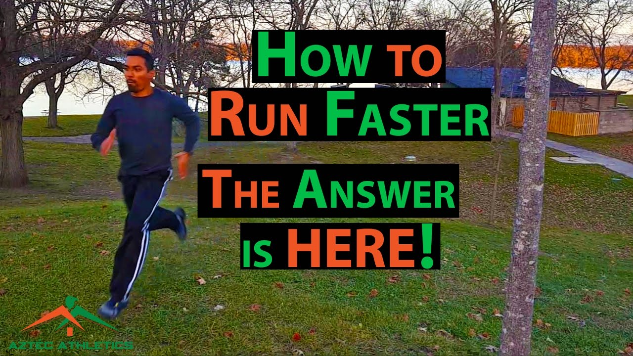 How To Run Faster  3ponents To Get Faster✔