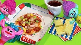 Готовим пиццу с троллями. Японская вкусняшка