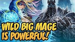Wild Big Mage Is Powerful! | Saviors of Uldum | Hearthstone