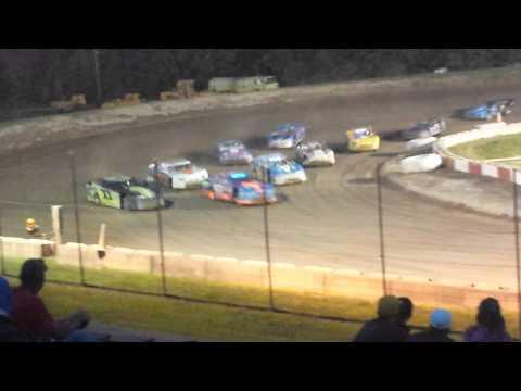 Steven Deinhardt's Feature race @ Penn Can Speedway 8/1/2014