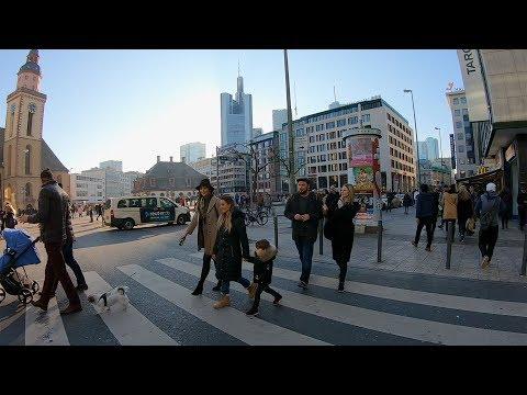 A Short Walk Through The Zeil (Frankfurt) 🇩🇪