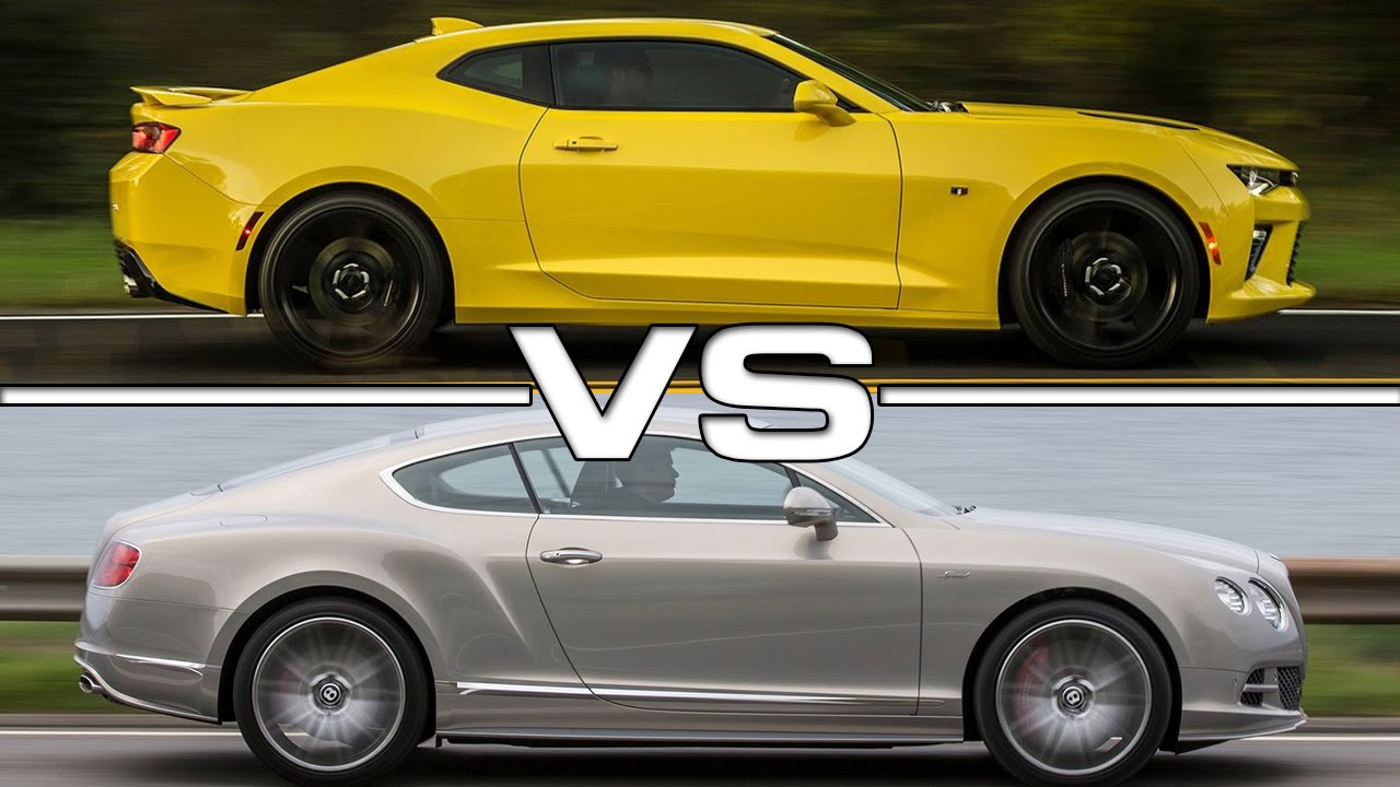 a comparison of mustang or camero