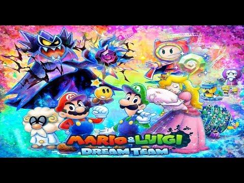 (3DS) Mario & Luigi IV - Dream Team Bros. - Playthrough (100% & No Damage) 1/16