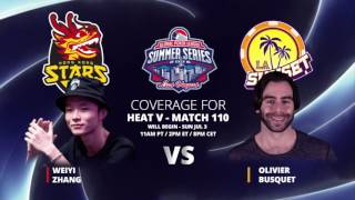 GPL Summer Series - Olivier Busquet VS Weiyi Zhang - Live from The Cube - Match 110
