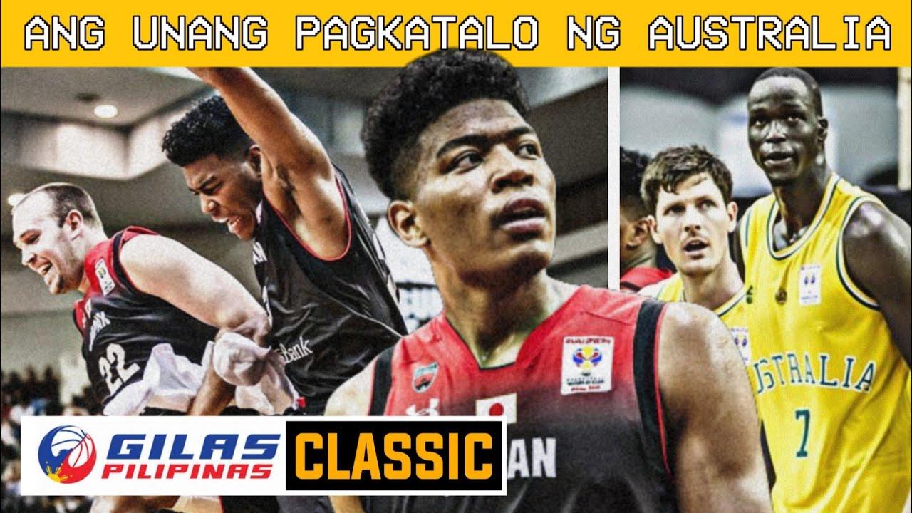 FIBA CLASSIC: Japan vs Australia / ANG UNANG TALO NG AUSTRALIA SA FIBA ASIA, LAKAS NG JAPAN