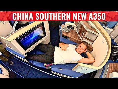 Review: CHINA SOUTHERN AIRLINES NEW AIRBUS A350 BUSINESS CLASS