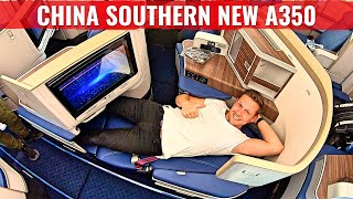 Gambar cover Review: CHINA SOUTHERN AIRLINES NEW AIRBUS A350 BUSINESS CLASS