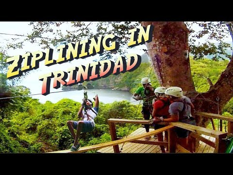 Our First Time Ziplining In Trinidad | Macqueripe, Chaguaramas (Vlog)