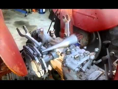 Massey Ferguson 165 Non Multipower Lift Pump 5 Youtube