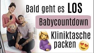 Babycountdown - Wir packen die Kliniktasche ♡ Sarah Nowak