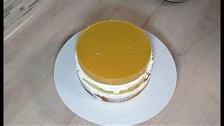 торт с ТРОПИЧЕСКИМ КОНФИ из ДОСТУПНЫХ ВСЕМ продуктов и Йогуртовым Кремом РЕЦЕПТ йогуртового крема