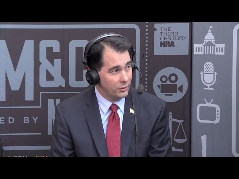 NRA News Cam & Co | Wisconsin Governor Scott Walker at CPAC 2015