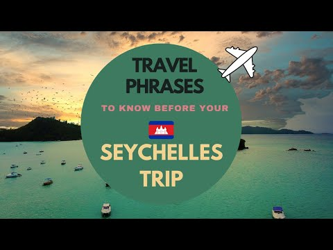Seychelles / Essential Travel Phrase in Creole Seychellois (Must know before Seychelles Trip)