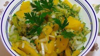 Немецкий Картофельный Салат -  Очень Вкусный и Полезный!  POTATO SALAD