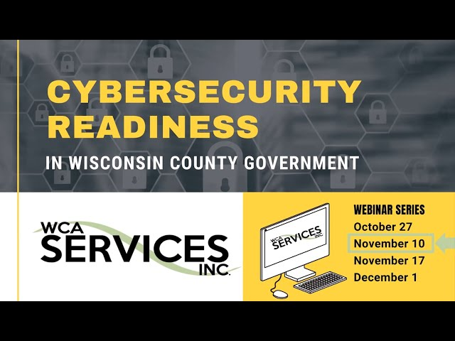 Cybersecurity Awareness 2: Assessing Cyber Risk Readiness at Your County.