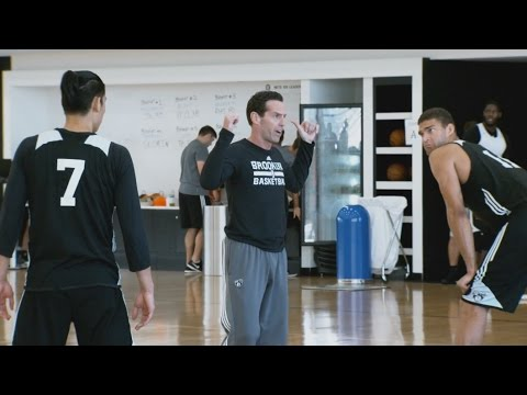 Into the Action: Atkinson, JLin, Lopez with Brooklyn Nets
