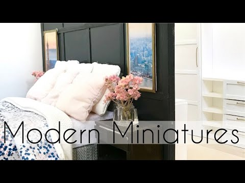 Modern DIY Dollhouse For Barbie Dolls (2 Bedrooms)