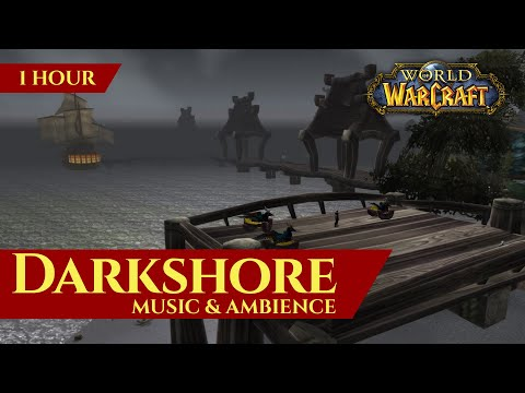 Vanilla Darkshore - Music & Ambience (1 Hour, 4K, World Of Warcraft Classic)