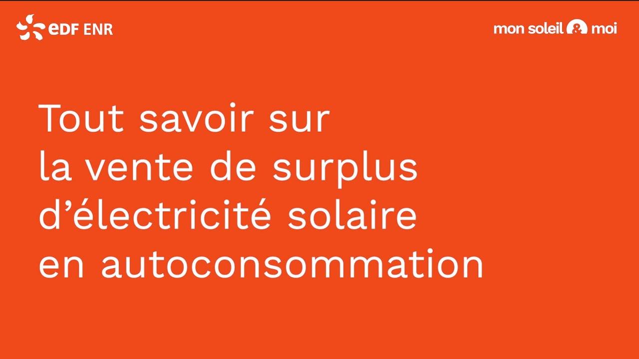 [Arrêté tarifaire] - Tout savoir sur la vente d'électricité solaire en autoconsommation - EDF ENR