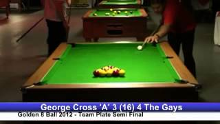 Golden 8 Ball 2012   George Cross